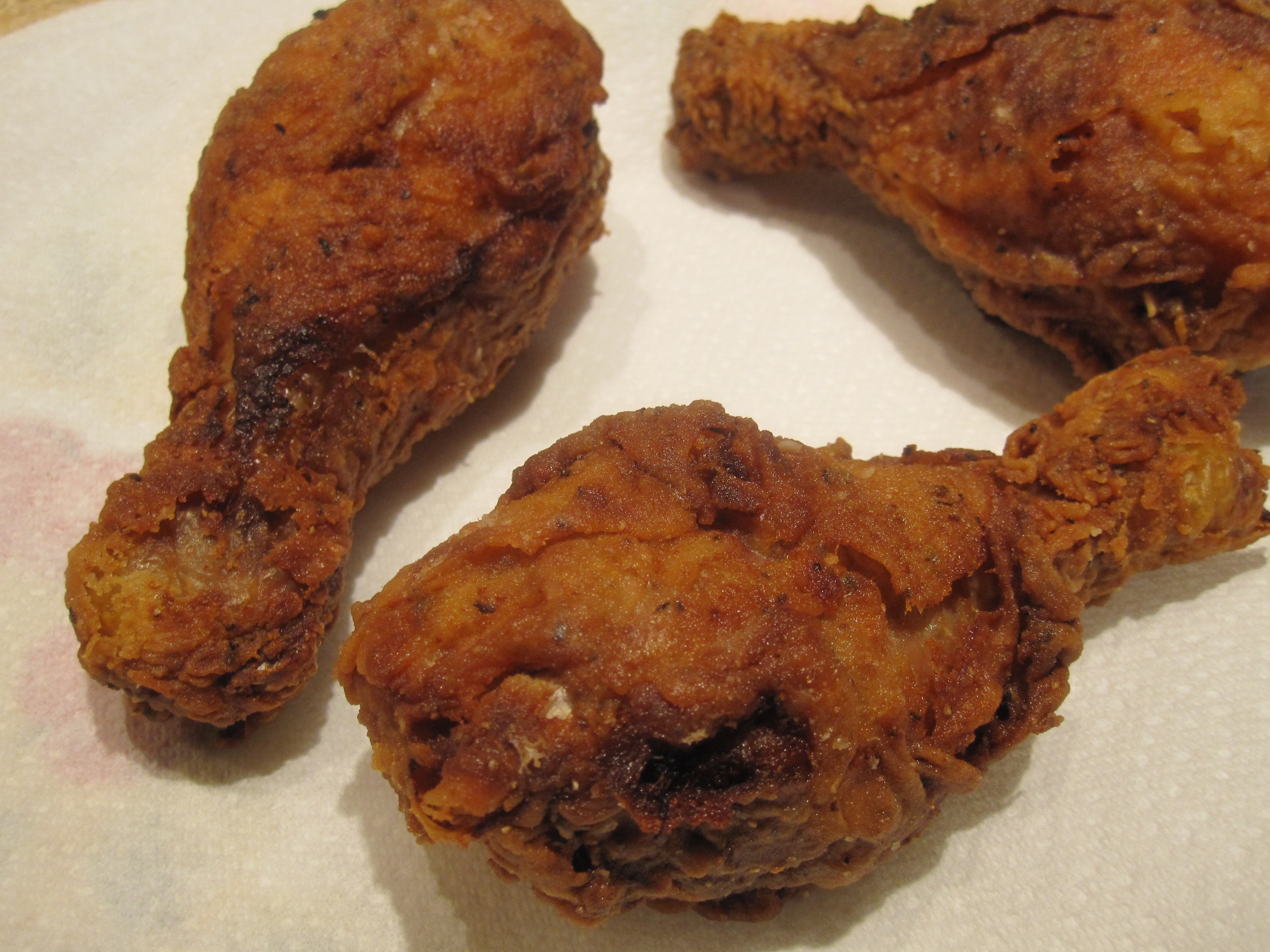OMG. The best fried chicken ever and it's not my recipe.