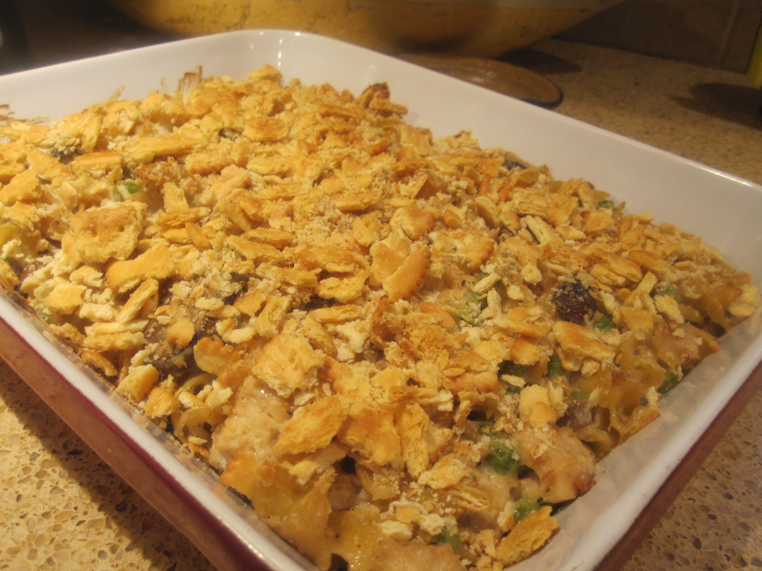 tuna noodle casserole | the south in my mouth