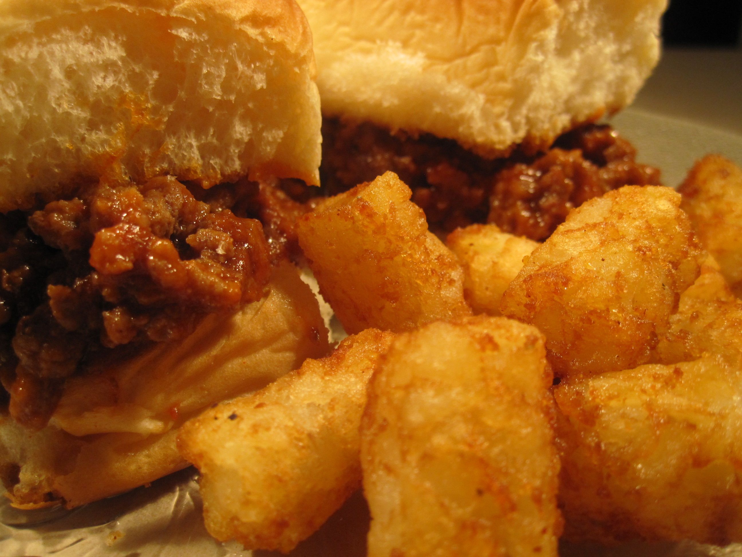 Buffalo Sloppy Joes Tater Tots   Curious Nut   Tater Tots And Sloppy Joes