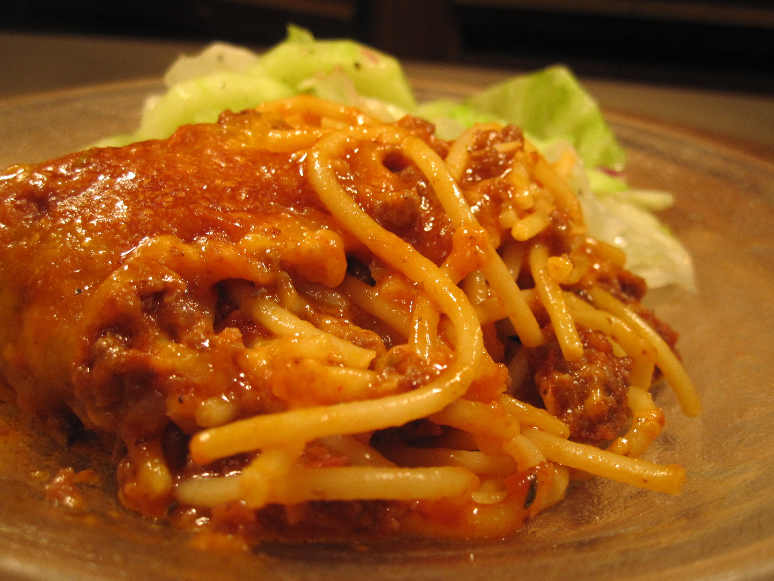Baked spaghetti | the south in my mouth