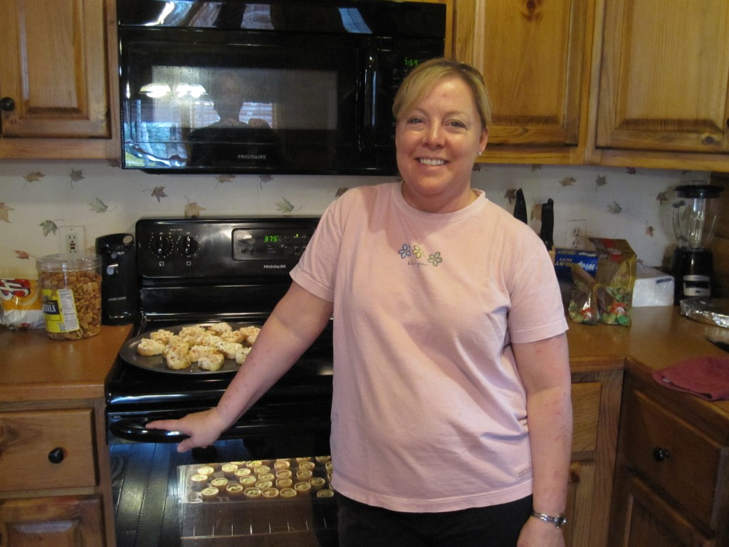 Reunion April 2013 Tammy bakes