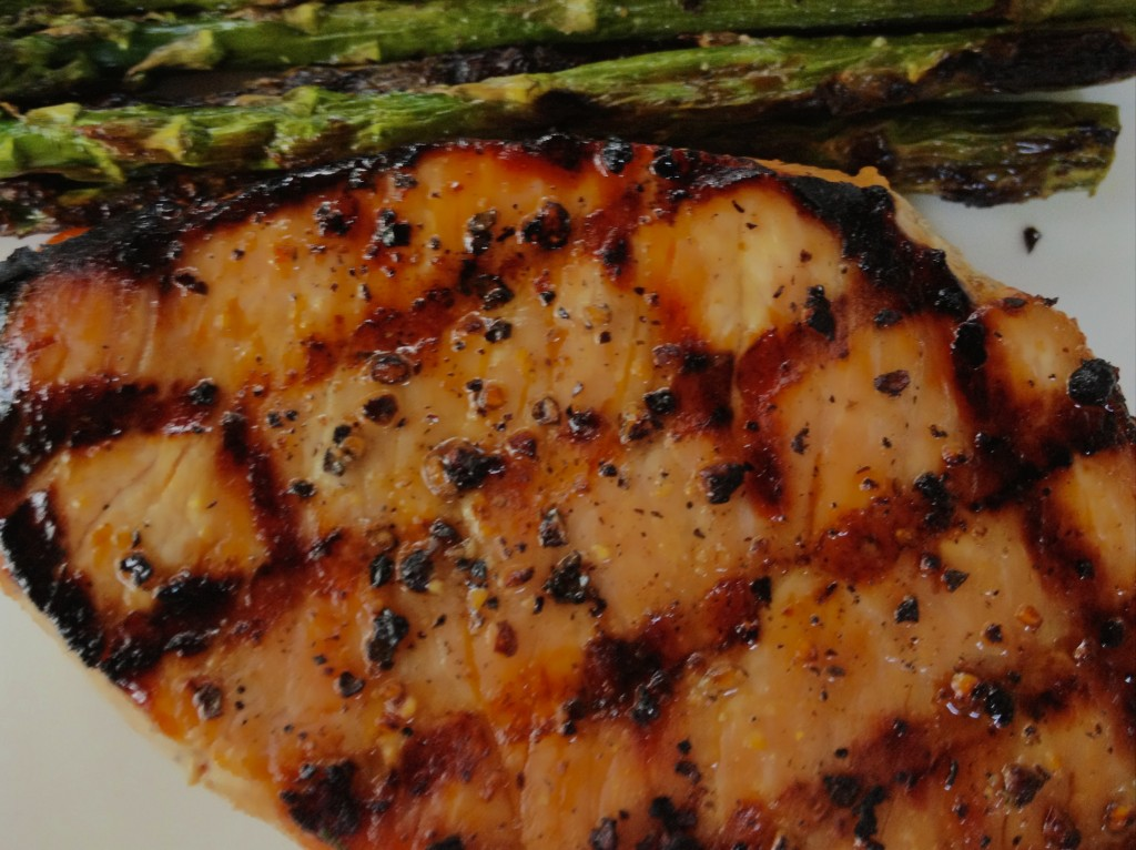 Orange Soy Marinated Pork Chops