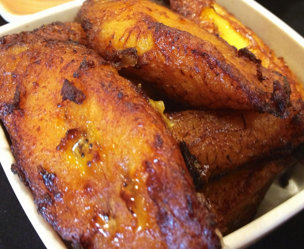Sweet plantains - the culinary rock-star of my youth. Oh, how I love thee.