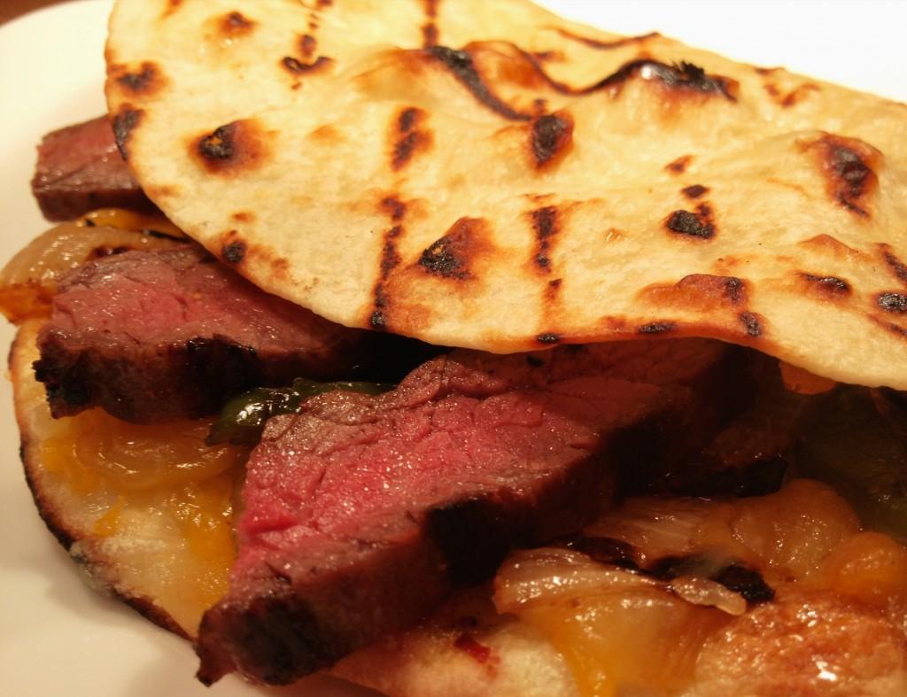 Skirt Steak Quesadillas