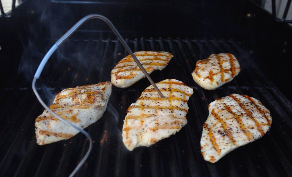 Grilled Chicken In Progress