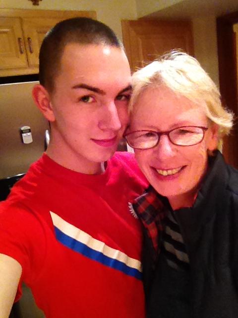 Noah and Mom