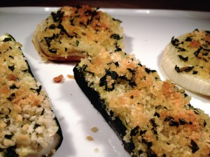 Verdure Gratinate - Baked Vegetables with Bread Crumbs