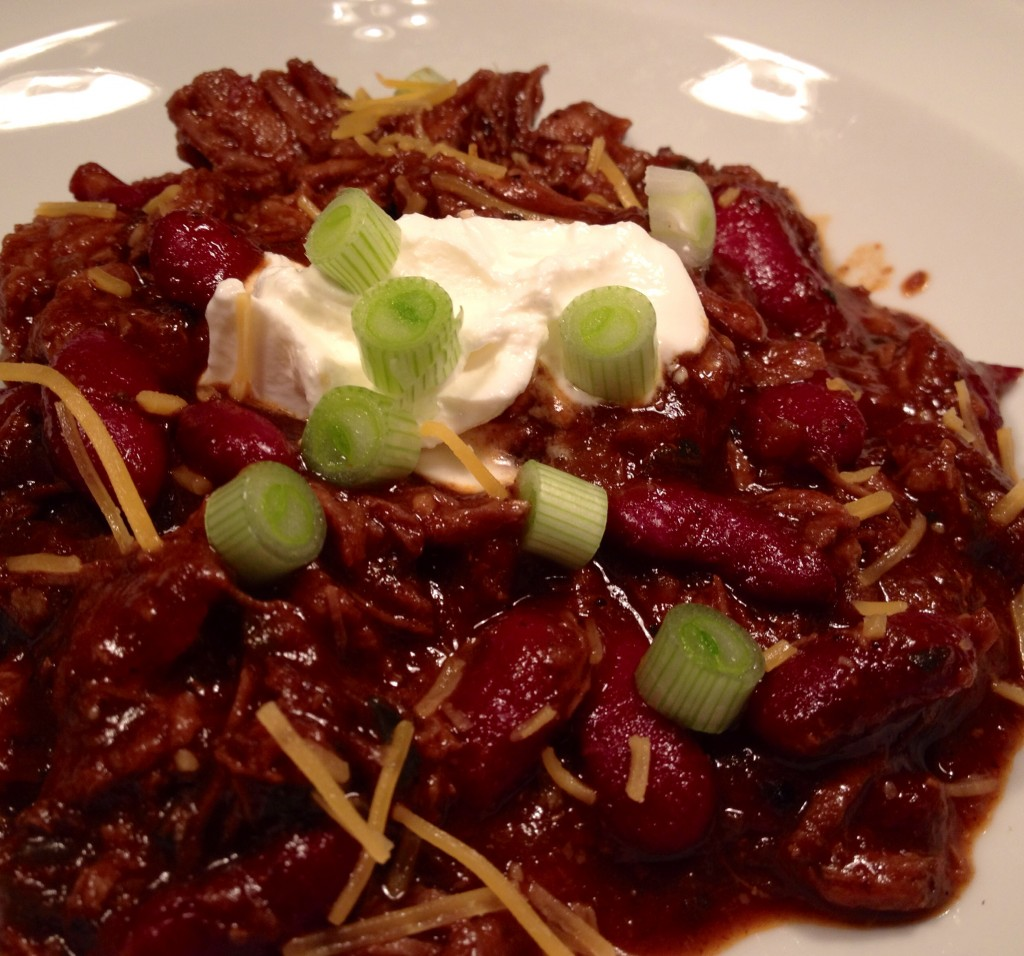 Not Bobby Flay's Chili