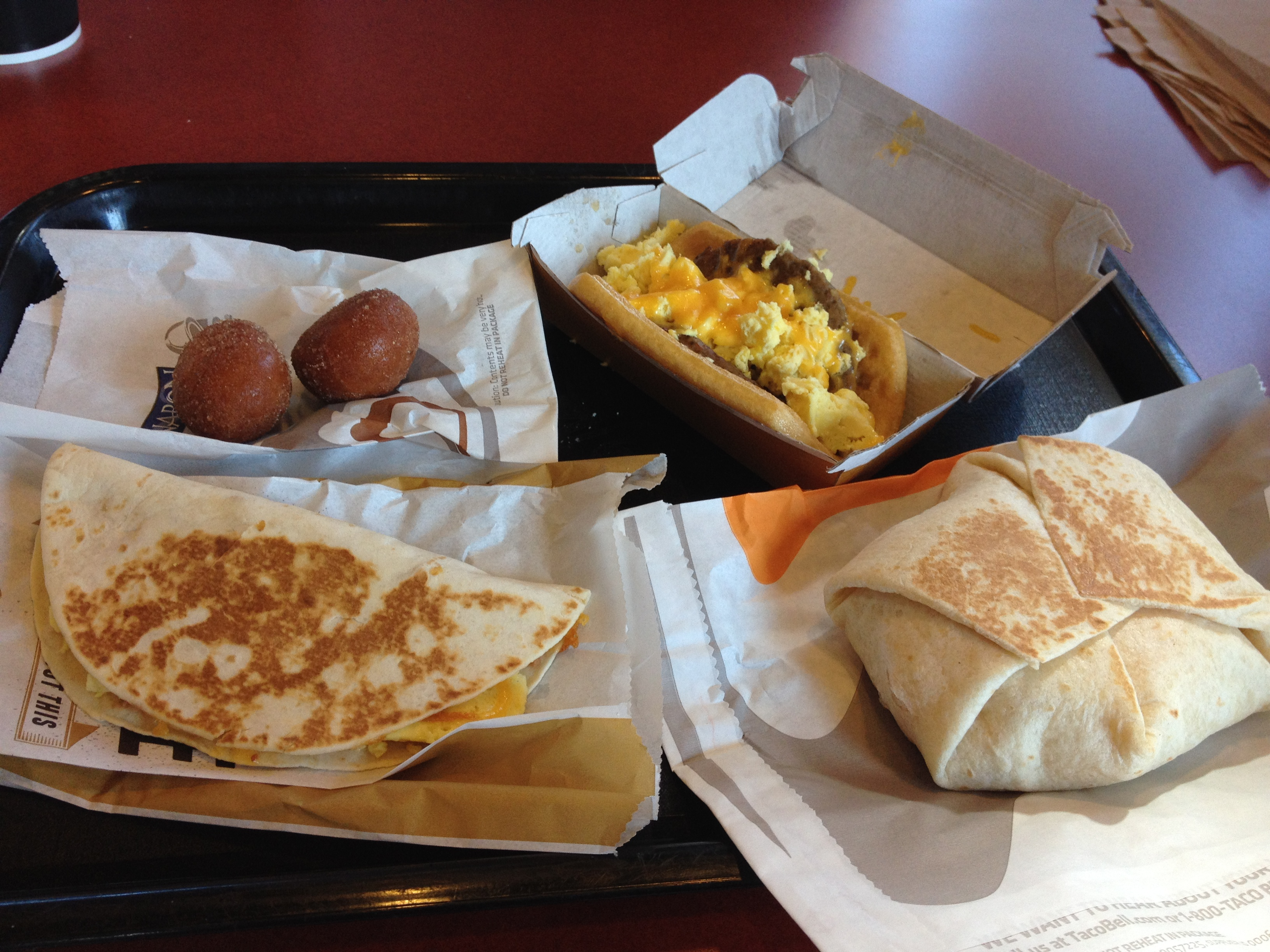 Taco Bell's new breakfast - No. | the