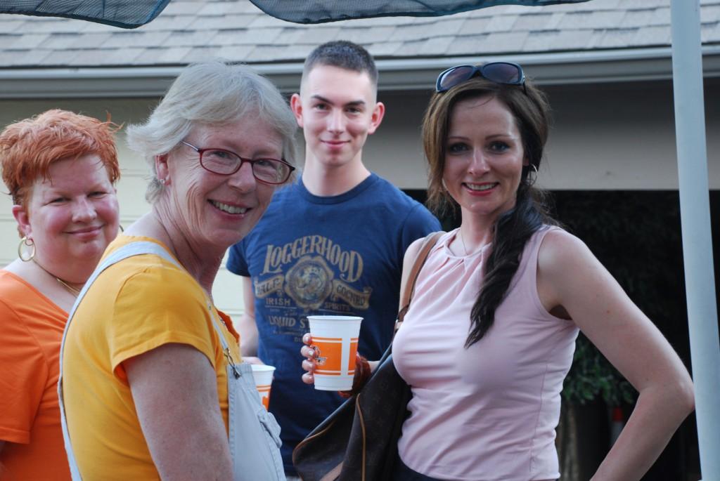 Granbunny, Mum, Noah and Masha