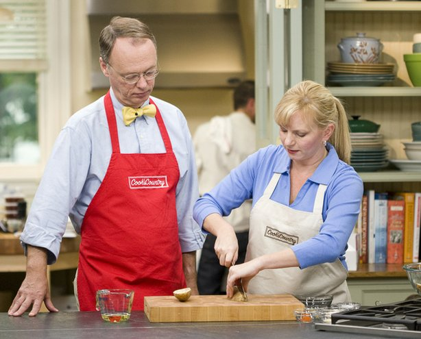 Christopher Kimball and Bridget Lancaster