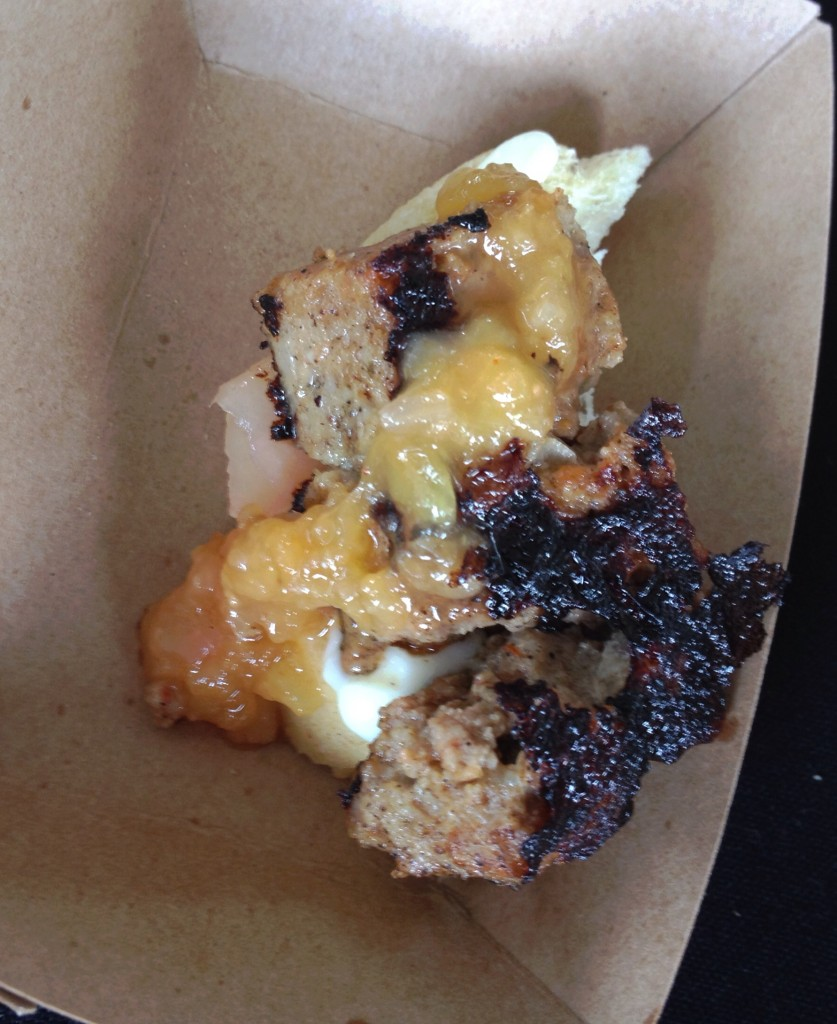 Duck Meat Loaf with Peach Jam from Etch