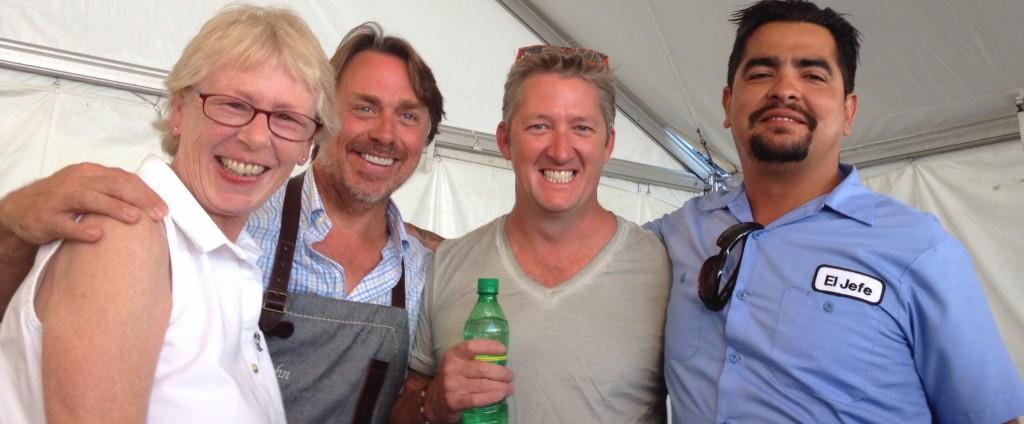 John Besh, Tim Love, Aaron Sanchez...and me!