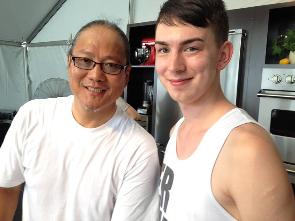 Noah with Morimoto