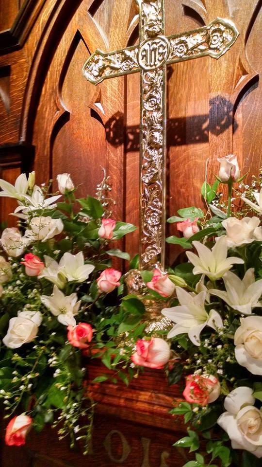 Altar at funeral