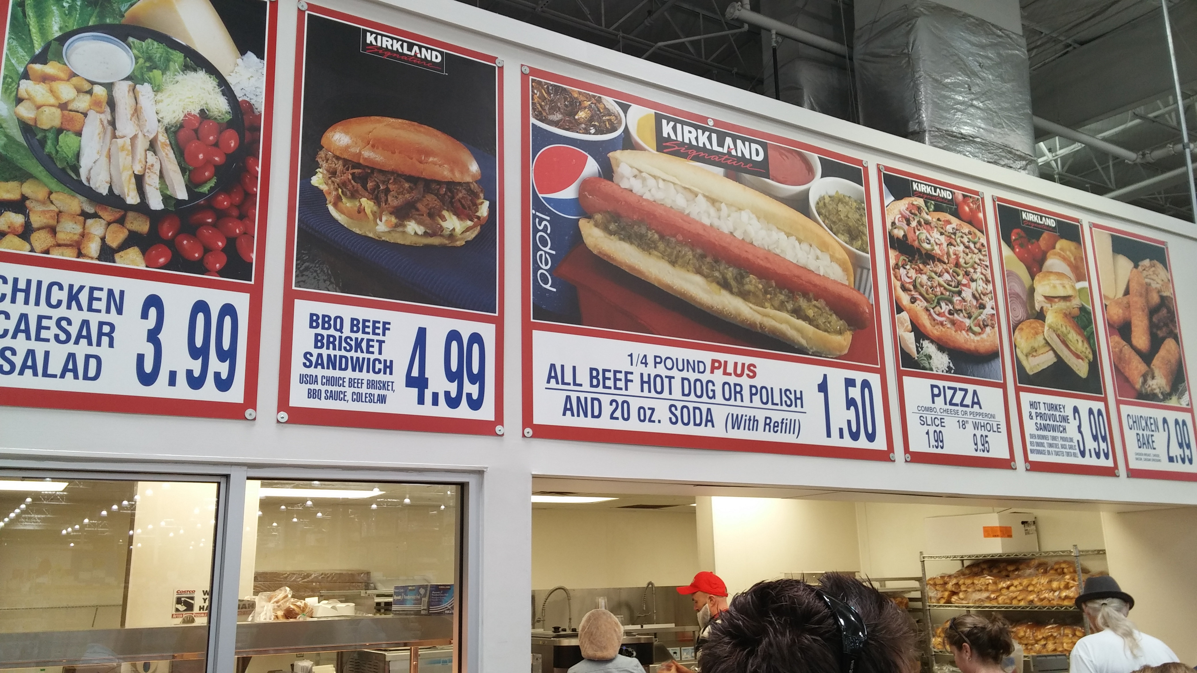 Image result for costco food court polishes