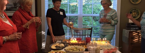 The Women of St. Paul's (and a crab appetizer recipe)