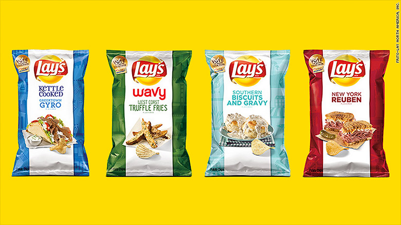 lays chips contest