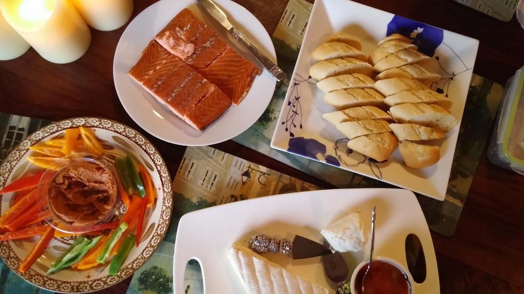 salmon cheese spread