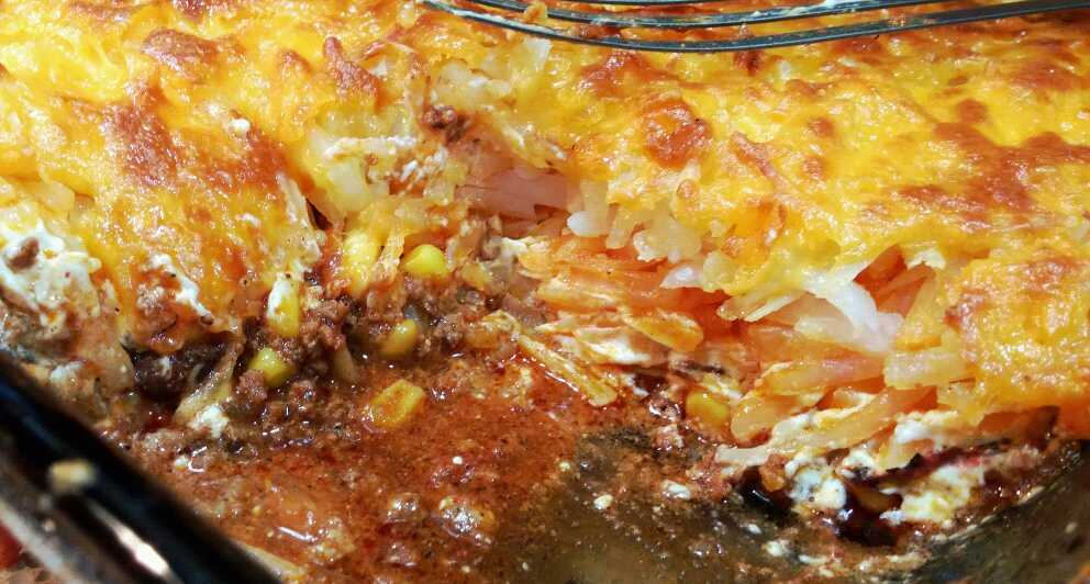 Mexican Chorizo and Potato Casserole