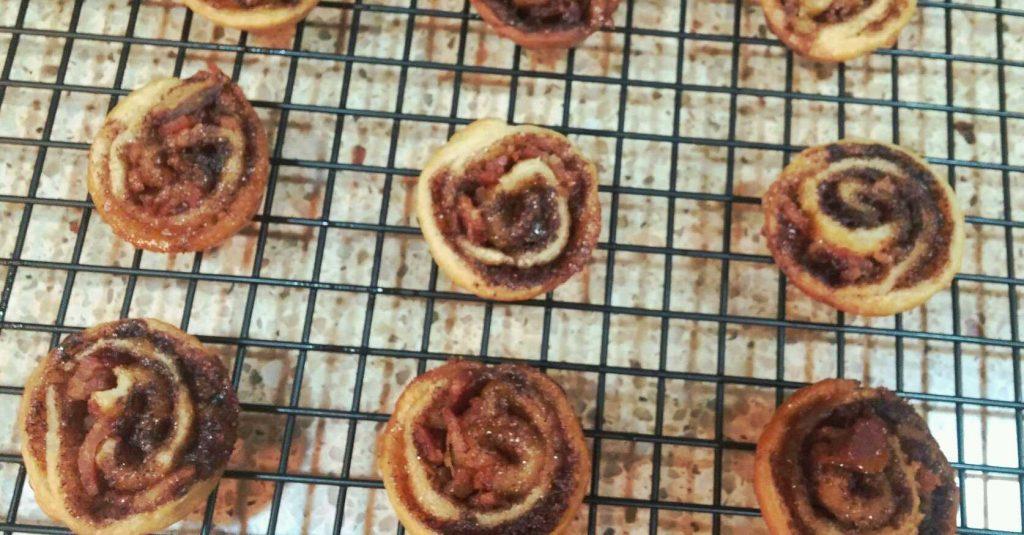 Mini cinnamon rolls 1